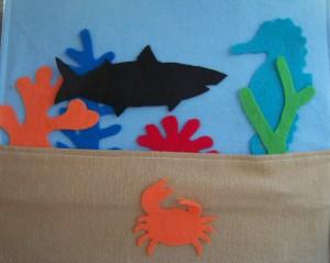 Ocean Life Felt Board