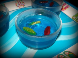 Jello and Gummy Fish